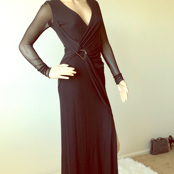 Fancy Long Dresses with Sleeves